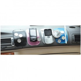 Super Sticky Pad Anti-Slip Mat Mobil - S-CMS-1101B - Black - 5