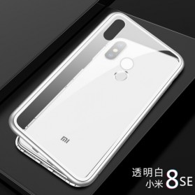 Tempered Glass Case for Xiaomi Mi 8 SE - White