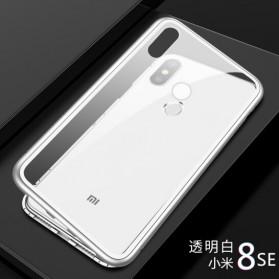 Tempered Glass Case for Xiaomi Mi 8 SE - White - 1