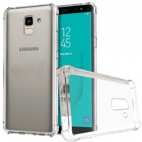 Anti Crack Case for Samsung Galaxy J8 2018 - Transparent