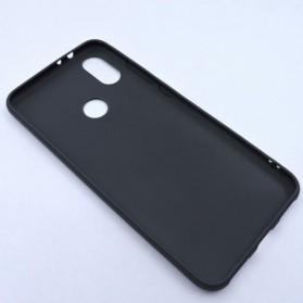 Fine Matte TPU Softcase for Xiaomi Mi A2 / Mi 6X - Black - 2