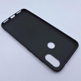 Fine Matte TPU Softcase for Xiaomi Mi A2 / Mi 6X - Black - 3