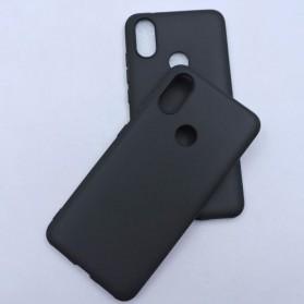 Fine Matte TPU Softcase for Xiaomi Mi A2 / Mi 6X - Black - 6