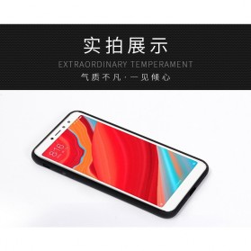 Fabric TPU Softcase for Xiaomi Mi Max 3 - Black - 3