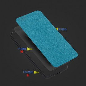 Fabric TPU Softcase for Xiaomi Mi Max 3 - Black - 5