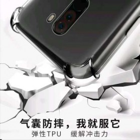 Anti Crack Case for Xiaomi Pocophone F1 - Transparent - 4