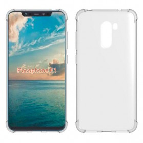 Anti Crack Case for Xiaomi Pocophone F1 - Transparent - 5