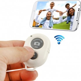 Tomsis Bluetooth 3.0 Remote AB Shutter - White