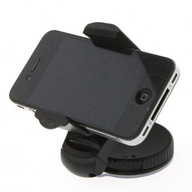 Lazy Tripod Car Mount Holder for Smartphone - WF-310 - Black