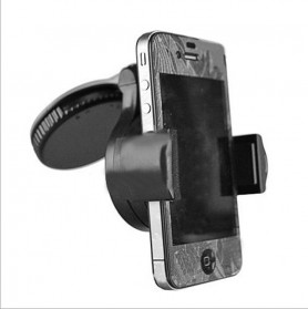 Lazy Tripod Car Mount Holder for Smartphone - WF-310 - Black - 3