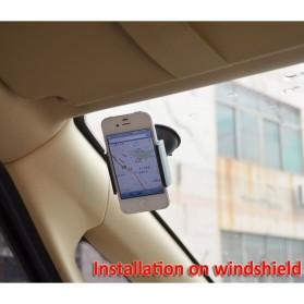 EMIUP Lazy Tripod Car Mount Holder for Smartphone - WF-219 - Black - 6