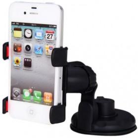 Lazy Tripod Car Mount Holder for Smartphone - WF-363 - Black