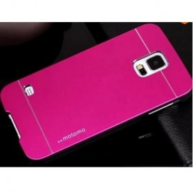 TORU Motomo Aluminium Case for Samsung Galaxy S5 - Magenta
