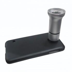 Lensa Makro Mikroskop untuk Samsung Galaxy S4 - A-UC-FL01 - Silver
