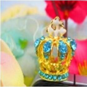 Cross Crown Earphone Jack Plug Accessories - Multi-Color