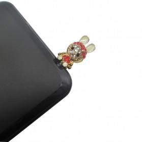 Hello Kitty 2 Earphone Jack Plug Accessories - Multi-Color