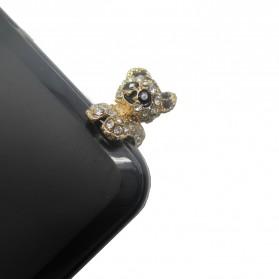 Koala Earphone Jack Plug Accessories - Multi-Color