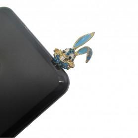 Rabbit Head Earphone Jack Plug Accessories - Multi-Color