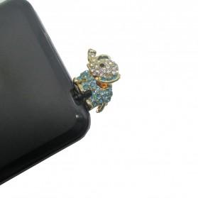 Elephant Earphone Jack Plug Accessories - Multi-Color