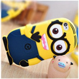 Minion Despicable Me TPU Case for Samsung Galaxy Note 3 - Dark Blue