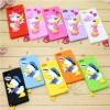 Cute Donald Duck TPU Case for Samsung Galaxy S5 - Orange