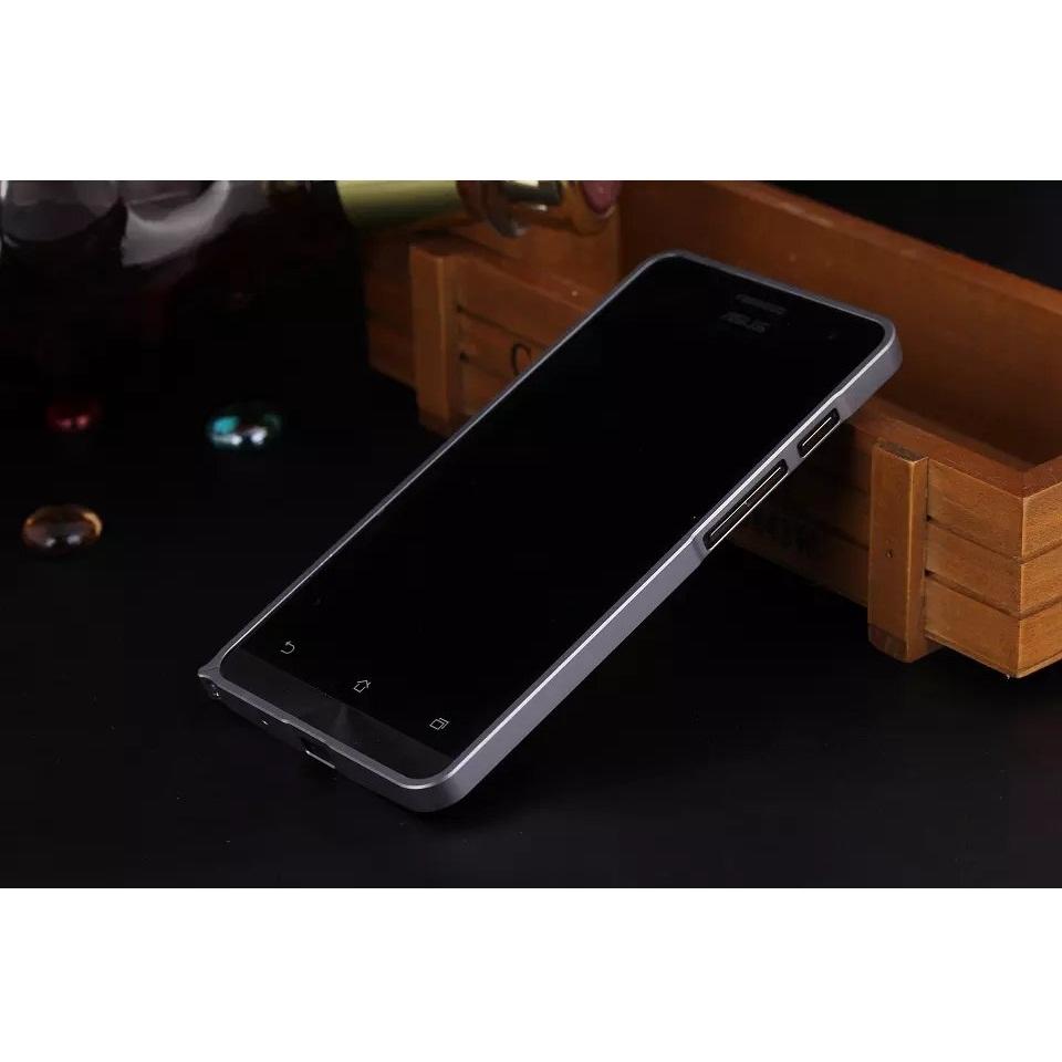 newest 5eaf8 b7003 Slim Bumper Metal Case for Zenfone 5 - Black