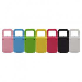 Mini Desk Station Mobile Phone Stand Holder - Pink