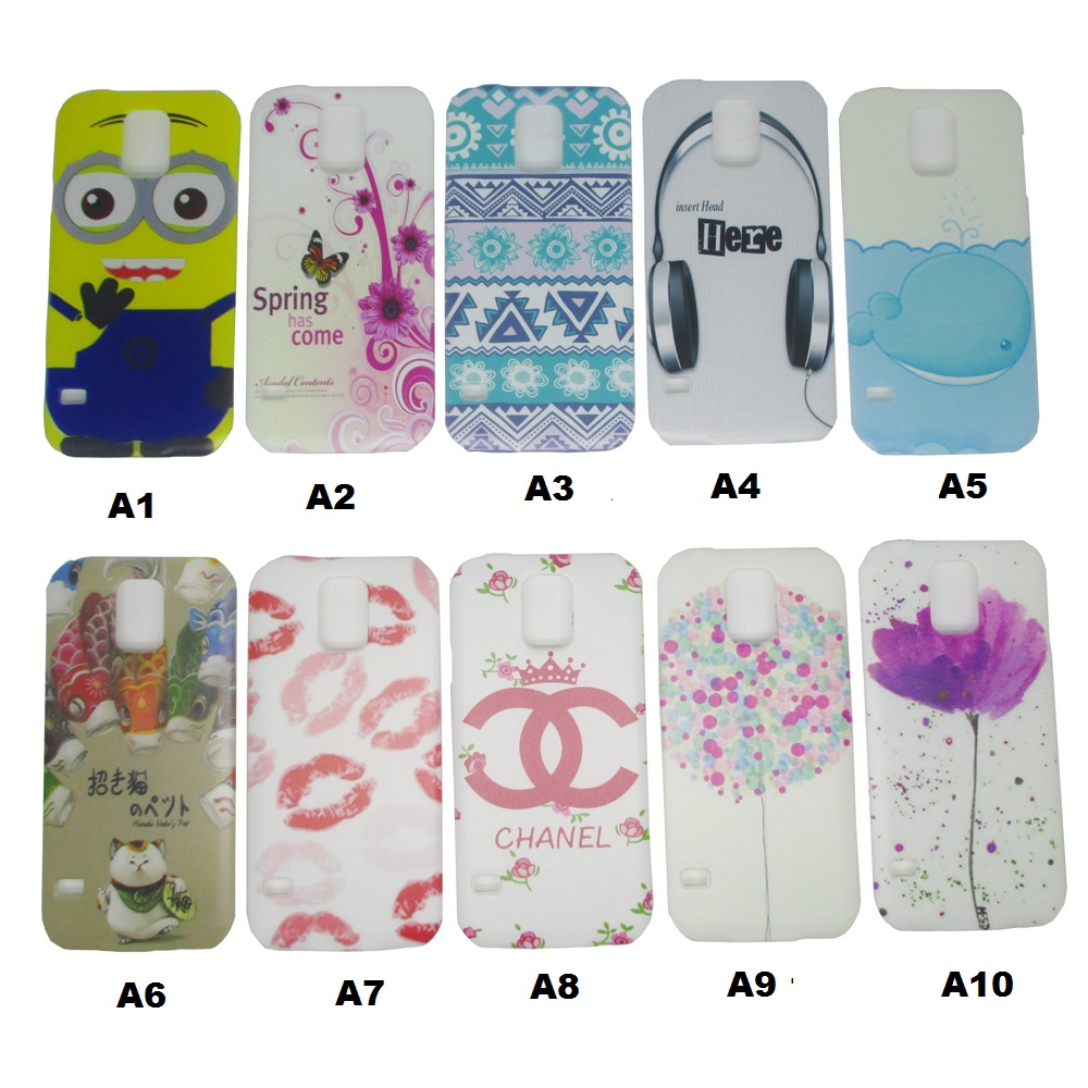 Painting Phone Plastic Case For Samsung Galaxy S5