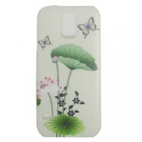 Painting Phone Plastic Case for Samsung Galaxy S5 - A26