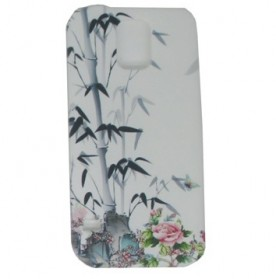 Painting Phone Plastic Case for Samsung Galaxy S5 - A35