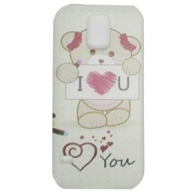 Painting Phone Plastic Case for Samsung Galaxy S5 - A37