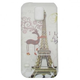 Painting Phone Plastic Case for Samsung Galaxy S5 - A38