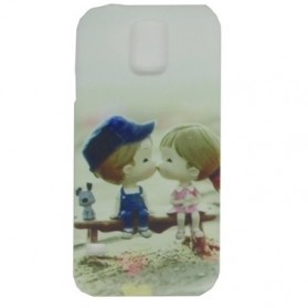 Painting Phone Plastic Case for Samsung Galaxy S5 - A41