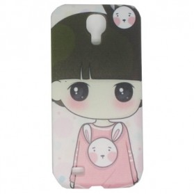 Painting Phone Plastic Case for Samsung Galaxy S4 - C43