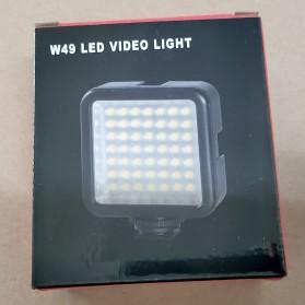 Ulanzi Video Light DSLR Smartphone 49 LED - W49 - Black - 11
