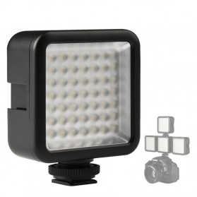 Ulanzi Video Light DSLR Smartphone 49 LED - W49 - Black - 7