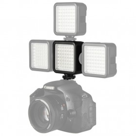 Ulanzi Video Light DSLR Smartphone 49 LED - W49 - Black - 8
