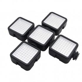 Ulanzi Video Light DSLR Smartphone 49 LED - W49 - Black - 9