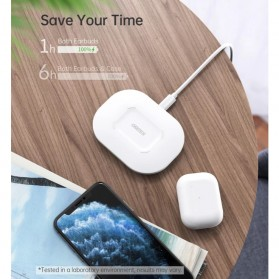 CHOETECH Fast Wireless Charger Pad Smartphone Airpods QC 3.0 15W - T550F - White - 5
