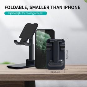 CHOETECH Foldable Smartphone Tablet Stand Holder - H88 - Black - 2