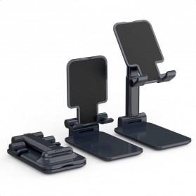 CHOETECH Foldable Smartphone Tablet Stand Holder - H88 - Black - 3