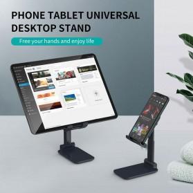 CHOETECH Foldable Smartphone Tablet Stand Holder - H88 - Black - 5
