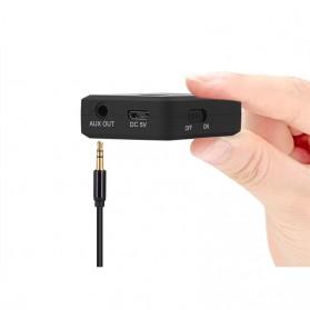 August aptX Bluetooth Receiver 3.5mm - MR230 - Black - 6