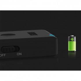 August aptX Bluetooth Receiver 3.5mm - MR230 - Black - 7