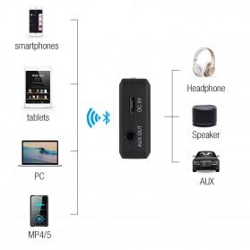 August aptX Bluetooth Receiver 3.5mm - MR230 - Black - 9