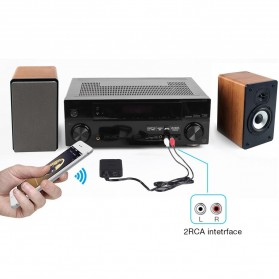 August aptX Bluetooth Receiver 3.5mm - MR230 - Black - 10