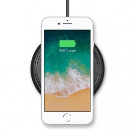 Mophie Wireless Fast Charging 7.5W for iPhone X (ORIGINAL) - Black - 4