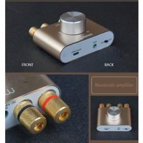 Mogu Audio Bluetooth Receiver Stereo Amplifier 50W+50W - F900 - Golden - 2