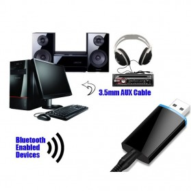 USB Bluetooth Receiver 3.5mm - BLS-B1 - Black - 7