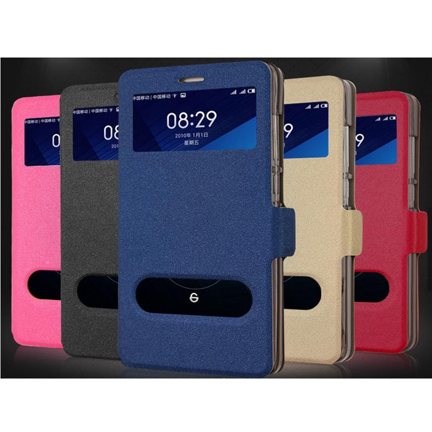 Taff Leather Flip Dual Window Case Asus Zenfone 6